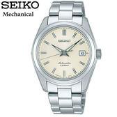 SEIKO 精工錶小GS 奶油白復刻鋼帶機械錶6R15 00C0S SARB035J  貨