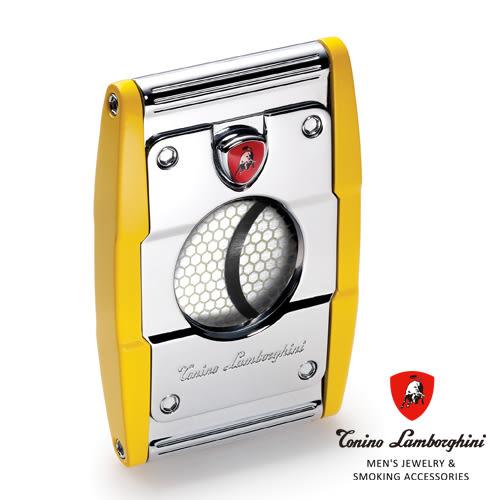 義大利 藍寶堅尼精品 - PRECISIONE CIGAR CUTTER 雪茄剪(黃色) ★ Tonino Lamborghini 原廠進口 ★