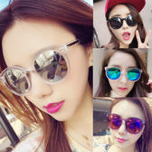 2018新款女士太陽鏡時尚潮韓版款眼鏡方形大框百搭情侶墨鏡男