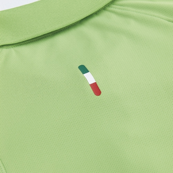 KAPPA義大利型男吸濕排汗POLO衫 蘋果綠 寶藍