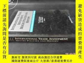 二手書博民逛書店INTERNATIONAL罕見TRADE INVESTMENT