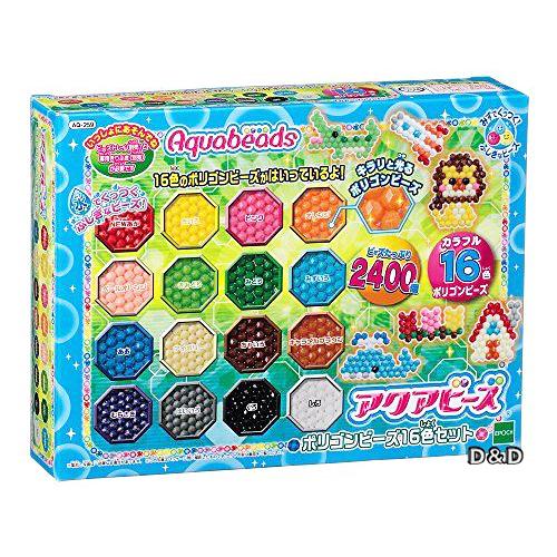 《 EPOCH 》16色多角珠珠補充包╭★ JOYBUS玩具百貨