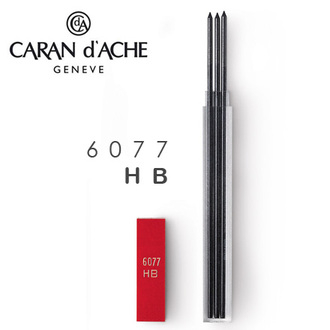 CARAN d'ACHE 瑞士卡達 Leads 自動鉛筆芯 2.0工程筆蕊(3入).HB / 盒 6077.450