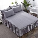 床罩床裙式床套單件席夢思床墊罩保護套防塵...