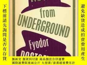 二手書博民逛書店英文原版罕見地下室手記 陀思妥耶夫斯基 Alma經典文學 Notes from Underground (Alma