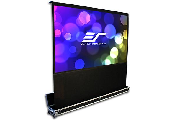 億立 Elite Screens 120吋 FE120H-TC頂級移動式電動上升舞台幕16:9比例