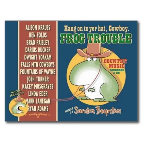 【部落格主強力推薦】FROG TROUBLE/精裝書+CD《作者: Sandra Boynton 》