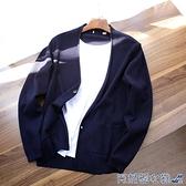 開衫毛衣 外貿男裝工廠剪標尾貨男秋冬針織開衫上衣毛衣外套 快速出貨