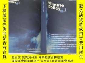 二手書博民逛書店【罕見英文原版】CLIMATE POLICY 2016 .VOL.16 ISSUES 1-4Y383796