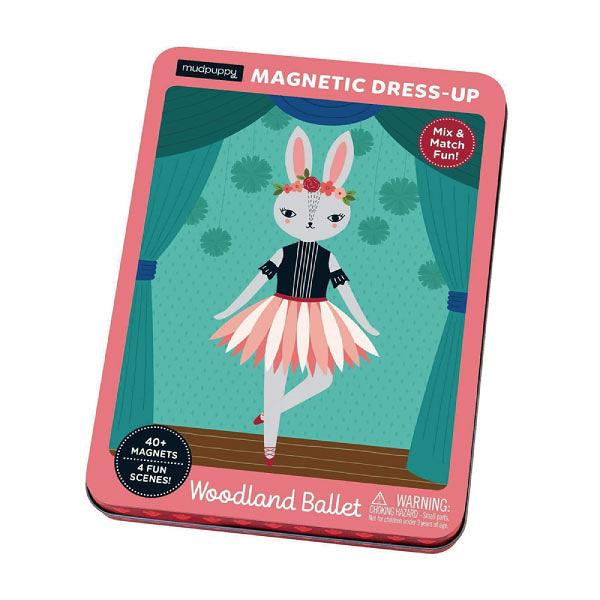 美國 Mudpuppy 磁鐵遊戲盒(森林舞者)
