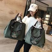 旅行包女韓版短途手提袋行李包旅游大容量輕便運動健身 【快速出貨】