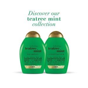 美國Ogx保濕茶樹薄荷有機洗髮乳*2+潤髮乳*1