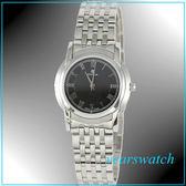 【萬年鐘錶】CYMA瑞士司馬錶 黑 超薄女錶 02-0461-001 24期零利率