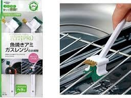 日本製瓦斯爐烤盤烤肉架烤箱架清潔刷2入裝476683通販屋