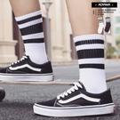 襪子 經典百搭三環線基礎中筒襪 【AH23】青山 線條 中筒襪 潮流 運動風 搭配 襪子 工裝搭配 滑板