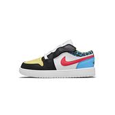 Nike JORDAN 1 LOW ALT (PS) 中童 黑紅 運動 休閒 魔鬼氈 休閒鞋 DH5929-006