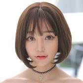 短假髮(整頂)-清新空氣瀏海鮑伯頭女假髮73rr12【巴黎精品】