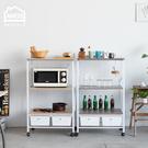 微波爐架 電器架 層架【TBA007】居家幫手多功能三層二抽附插座廚房電器架Amos