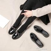 女鞋2020春季英倫風小皮鞋女2019新款秋鞋單鞋平底豆豆百搭樂福鞋 好樂匯