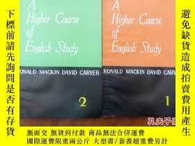 二手書博民逛書店《a罕見higher course of english stu