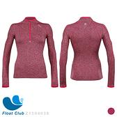 【ZOOT】女款 秋冬輕量保暖 肌能壓縮 半拉式運動上衣