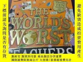 二手書博民逛書店The罕見World'S Worst Teachers 全世界最糟糕的老師 大衛威廉姆斯兒童成長幽默小說