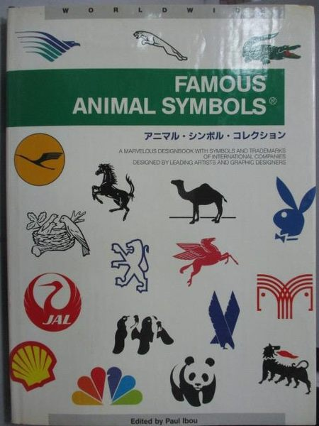 【書寶二手書T8/設計_XCH】Famous Animal Symbols(1)