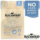 【培菓平價寵物網】BLACKWOOD 柏萊富《全犬│鯰魚&珍珠麥》功能性滋補養生15LB/6.8kg
