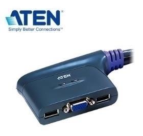 ATEN 2埠 USB KVM 多電腦切換器 (CS62U)