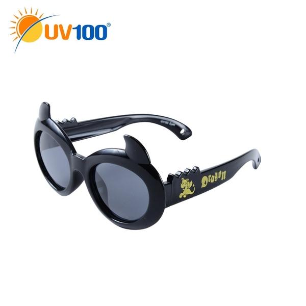 UV100 防曬 抗UV Polarized童款太陽眼鏡-甜心惡魔