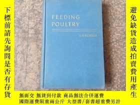 二手書博民逛書店FEEDING罕見POULTRY 家禽飼養Y21921 見圖 見圖 出版1946