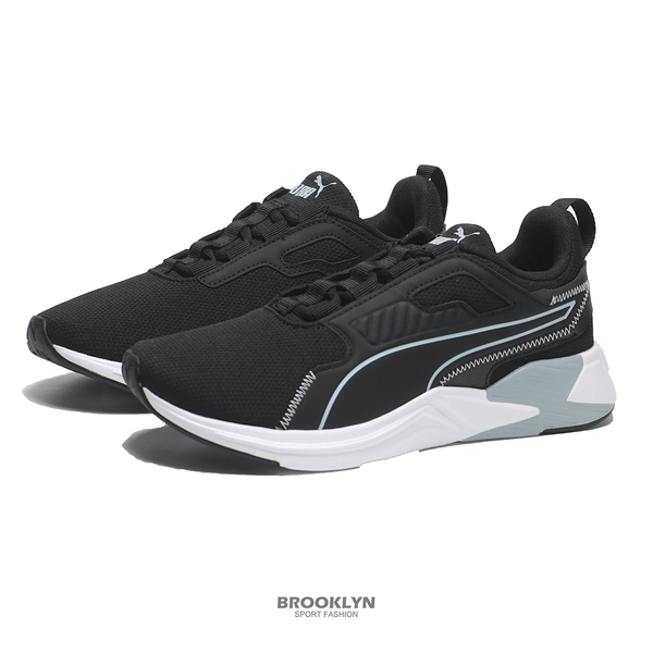 PUMA 慢跑鞋 DISPERSE XT FTR 黑白 女(布魯克林) 19525103