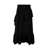 夏大大胖mm大碼法式氣質新款新品夏季女生顯瘦遮肉寬鬆高腰正韓半身裙
