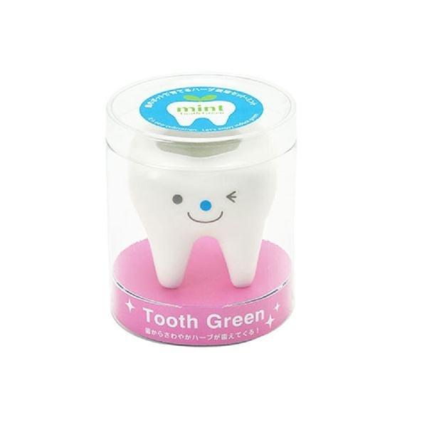 Tooth 牙齒綠植物/藍/薄荷茶葉【聖新陶芸】