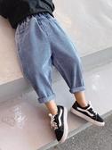 牛仔褲兒童牛仔褲2020春裝新款韓版男童洋氣寬松長褲小童寶寶百搭休閒褲 新品