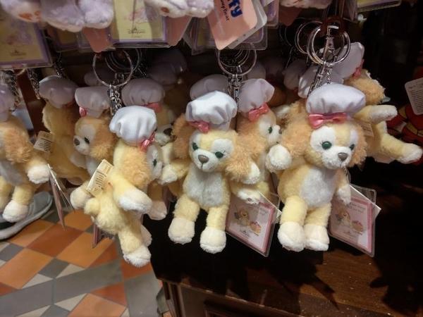 【現貨在台】達菲 畫家貓 史黛拉兔 廚師狗 cookie【裸身吊飾 鑰匙圈】香港代購 正版迪士尼樂園
