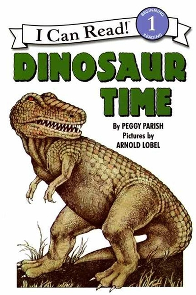 (二手書)An I Can Read Book Level 1: Dinosaur Time