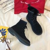 馬丁靴夏季新款網紅馬丁靴ulzzang女英倫風學生韓版百搭ins短靴透氣 聖誕節