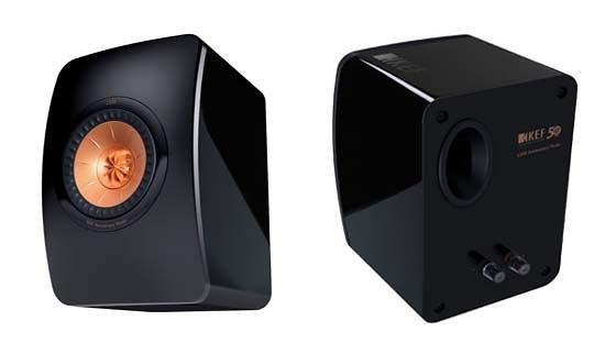 結帳優惠中《名展影音》☆╮英國 KEF LS50 小型監聽揚聲器 公司貨(黑色)