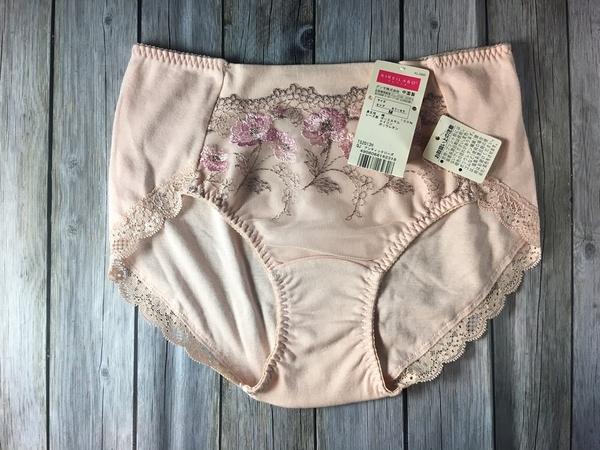 【京之物語】日本親自帶回KIREILABO花朵粉色女性純棉三角內褲M號