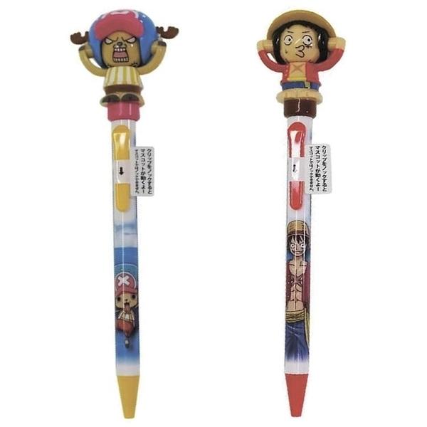 【南紡購物中心】日本製造Sakamoto海賊王-蒙其·D·魯夫/多尼多尼·喬巴ONE PIECE 22547變顏原子筆