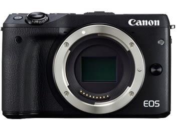 Canon EOS M3 單機身 (公司貨)贈64g、讀卡機、小腳架、保護貼、超細纖維布、等等