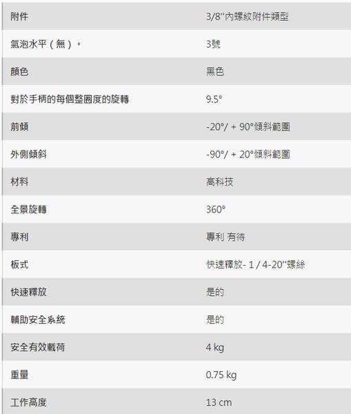 曼富圖 MANFROTTO MHXPRO-3WG 三向微調雲台 【正成公司貨】