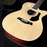 單板民謠吉他41寸木吉他初學者入門吉它練習學生男女用YYP     傑克型男館