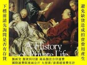二手書博民逛書店History罕見Of Private Life, Volume IiiY255562 Chartier, R