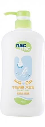 『121婦嬰用品館』Nac Nac牛奶燕麥沐浴乳700ml