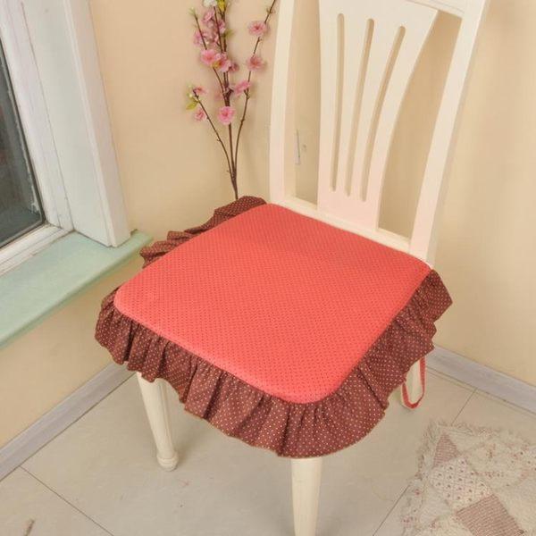[超豐國際]布藝棉 含芯方形坐墊 椅墊 可拆洗餐椅墊 家美