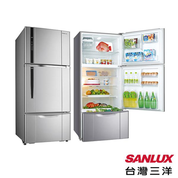 台灣三洋 SANLUX 一級能效 580L三門直流變頻冰箱 SR-C580CV1