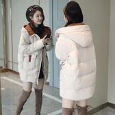第二件4折 韓國風長版連帽寬鬆簡約單品外套