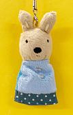 【震撼精品百貨】Gaspard et Lisa_麗莎和卡斯柏~絨毛吊飾-裙裝#10355